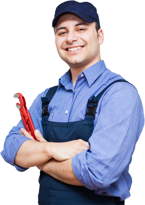 Image of a maintenance man